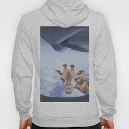 Yeah yeah, for sure there is a funny giraffe...  #decor #society6 #buyart Hoody