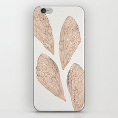 Cicada Wings in Rose Gold iPhone & iPod Skin