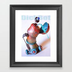 DickBot Framed Art Print