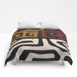 African Mudcloth Print Comforters
