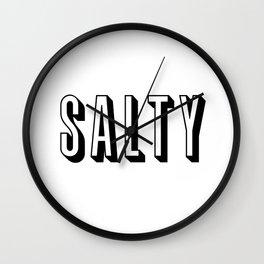 Salty Wall Clock