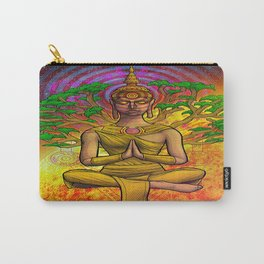 Psychedelic Buddha Carry-All Pouch
