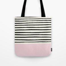 Bubblegum x Stripes Tote Bag