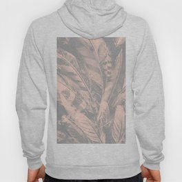 Cosmic Feathers Evening Sand Hoody
