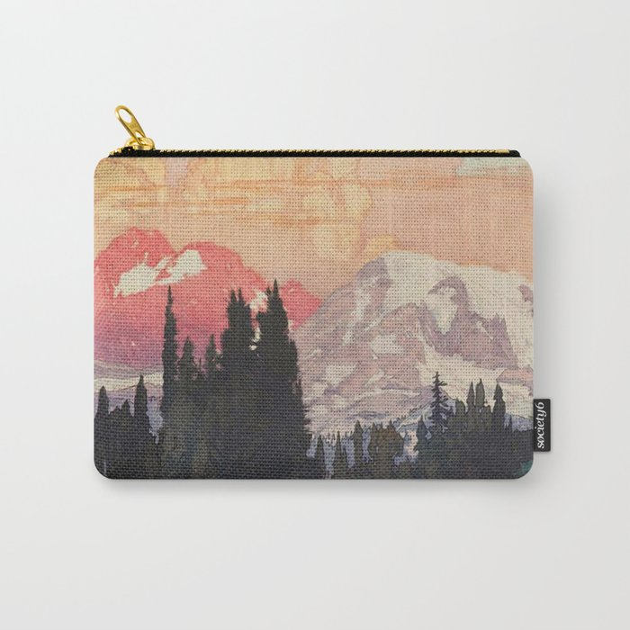 Storms over Keiisino Carry-All Pouch