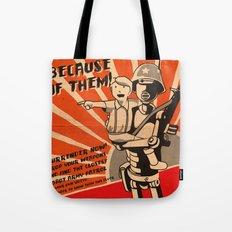 Propaganda Series Tote Bag