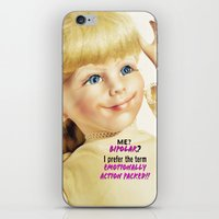 berserk iPhone & iPod Skins featuring Me? Bipolar? by Oh Margaret