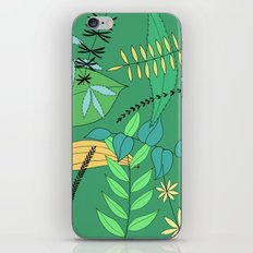 Green Leaves iPhone & iPod Skin