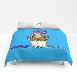 Milf and Cookies Comforters