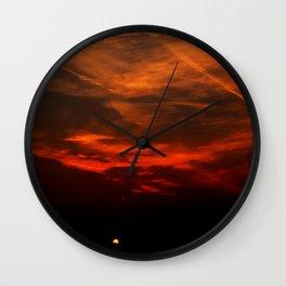 The Hidden Sun Wall Clock