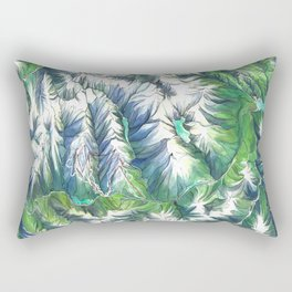 Sea To Sky Rectangular Pillow