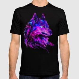 cosmic wolf  T-shirt