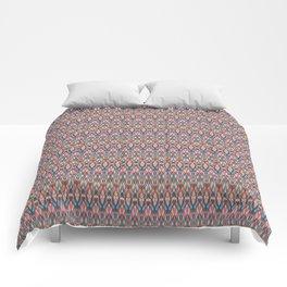 Abstract geometric wave . Comforters
