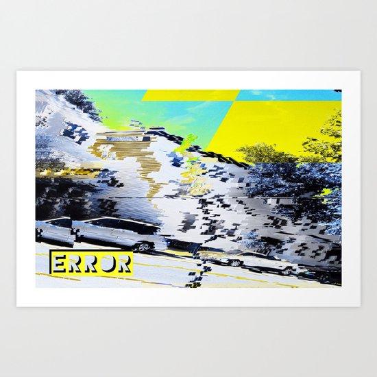 Error Art Print