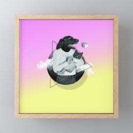 Safira Framed Mini Art Print