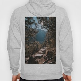 On the trail - Landscape and Nature Photography Hoody