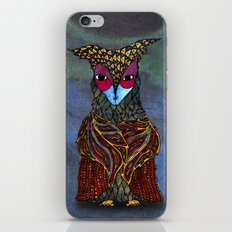 Owl-Girl iPhone & iPod Skin