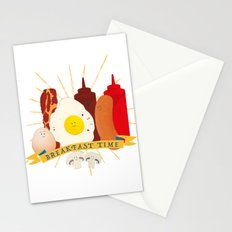 Breakfast time Stationery Cards