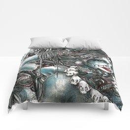 Goddess Kali 1 Comforters