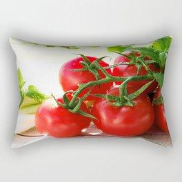 Fresh Tomatos Rectangular Pillow