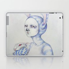 The white rabbit Laptop & iPad Skin