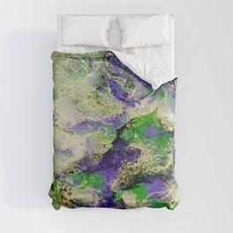 Pansies in Cream Comforters
