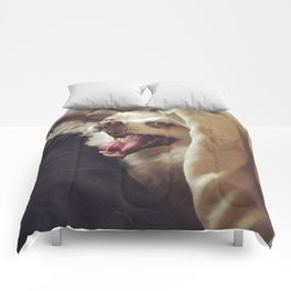 Doggy Says Hello Comforters