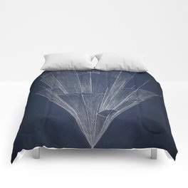 Disappearing point 2 Comforters