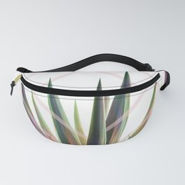 Tropical Desire - Foliage and geometry Fanny Pack