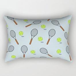 Tennis pattern Rectangular Pillow
