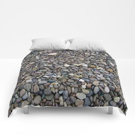 What Stories You Could Tell... Rocks of Jasper Beach Comforters