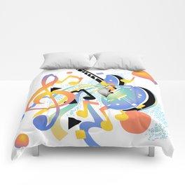 Keep On Strumming Comforters