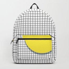 Memphis Yellow Backpack