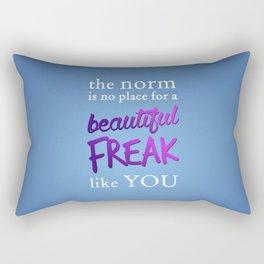Beautiful Freak Rectangular Pillow