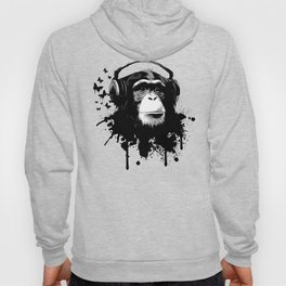 Monkey Business - White Hoody