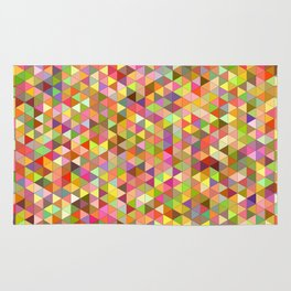 Happy summer triangles Rug