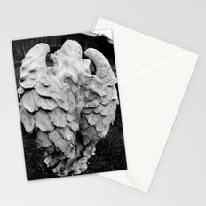 Angel's winged back Stationery Cards