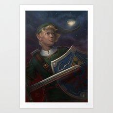 Link -- The Adventurer Art Print