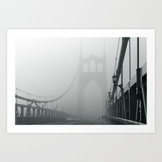 Grey St. Johns Art Print