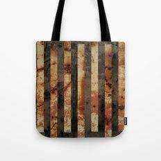 Rusty barrel abstraction Tote Bag