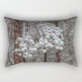 Wintertime 3 Rectangular Pillow