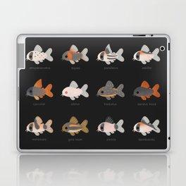 Corydoras! - black Laptop & iPad Skin
