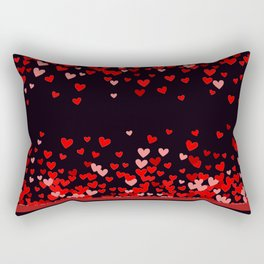 Valentine Hearts and Tarts Rectangular Pillow