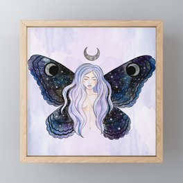 Cosmic Fairy Framed Mini Art Print