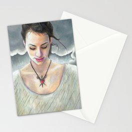 Three of Swords Stationery Cards