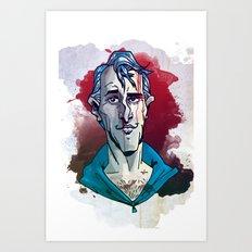 Machucado Art Print