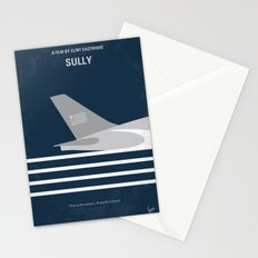 No754 My Sully minimal movie poster Stationery Cards