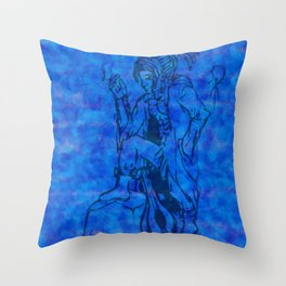 water gnome Throw Pillow