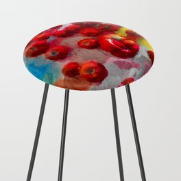 Homegrown Tomatoes Counter Stool