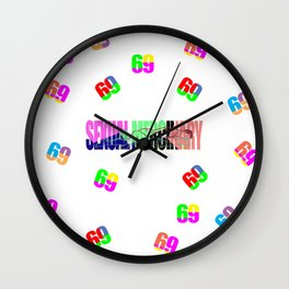 Sexual Mercinary Wall Clock